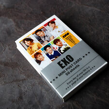 K-POP EXO XOXO EXO-K EXO-M Mini Photo Post Card 56pcs Korea KPOP star