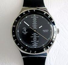 Swatch Irony Sydney 2000 Juegos Olímpicos Souvenir de cuarzo Reloj para Hombre Movimiento ETA
