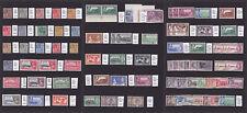 Montserrat. 1916-1957. Mint selection on three stockcards.