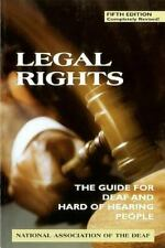 NEW - Legal Rights, 5th Ed.: The Guide for Deaf and Hard of Hearing People