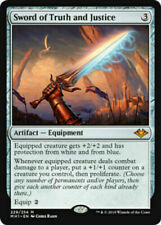 MTG - Morden Horizons -   Sword of Truth and Justice x 1 NM