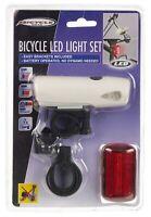 Front & Back 2 LED Bike Safety Waterproof Light Set Rear Tail Backlight Flashing