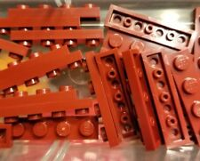LEGO 12 Plates Dark Red 1 x 4