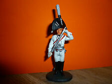 SOLDAT DE PLOMB DELPRADO DE L EMPIRE = OFFICIER GARDE DU CORPS PRUSSE 1806
