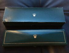RARE INNER OUTER 1950-60s VINTAGE ROLEX BOXES LEATHER from ITALY 6512 6062 8171