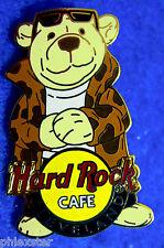 CLEVELAND LEOPARD SKIN COAT HERRINGTON CITY POLAR BEAR SERIES Hard Rock Cafe PIN