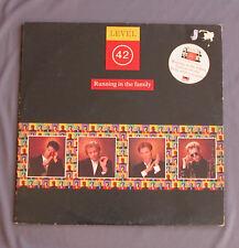 """Vinilo LP 12"""" 33 rpm LEVEL 42 - RUNNING IN THE FAMILY"""