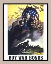 TWELVE (12) LAMINATED REPLICA WORLD WAR II RECRUITMENT POSTERS