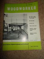 Woodworker October 1961 ~ Retro Vintage Illustrated Magazine + Advertising