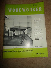 Woodworker October 1961 ~ Retro Vintage Illustrated Magazine + Advertising