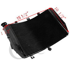 Motorcycle Aluminum Engine Cooling Cooler Radiator Fit For Suzuki 04-05 GSXR 600