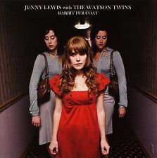 JENNY LEWIS/THE WATSON TWINS - Rabbit Fur Coat - CD ** DISC ONLY #72A