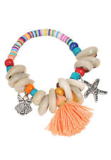 African Style Bracelet Beads Bangle S New Women Fashion Stretchy Glass Boho 18cm