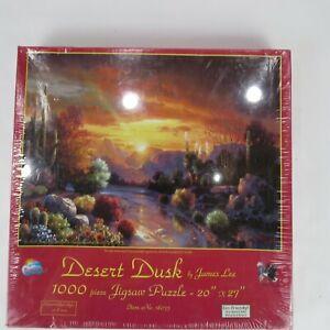 "SEALED Desert Dusk-sunsout 1000 Pc Puzzle-20""x27"""