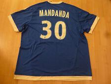 NWT Adidas 2015/2016 Olympique Marseille #31 Steve Mandanda Blue 3rd Jersey (XL)