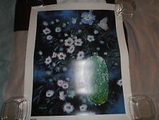 "Vintage L.E. 138/250 Print ~ ""Emerald"" by John Kelly Comes With COA 23"" X 19"""