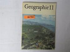 Geographie Klasse 11 Lehrbuch 1990 DDR Schulbuch Volk und Wissen Verlag