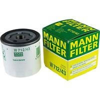 Original MANN-FILTER Ölfilter Oelfilter W 712/43 Oil Filter