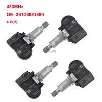 TPMS OEM 36106881890 Tire Pressure Sensors 433MHz For BMW M3 M4 F30 F32 F80 F82
