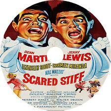 Scared Stiff  _  Dean Martin Jerry Lewis Lizabeth Scott 1953 very rare dvd