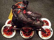K2 Mod 125 Inline Skates, Size 8 Us, 40.5 Eu, Red/Black, Lightly Used