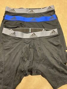 Adidas Climalite 3 Pcs Boxer Brief Relaxed Performance Size S (no Packaged)#118