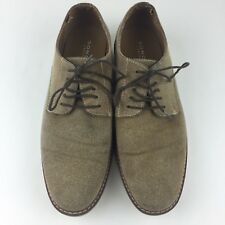 Sonoma SNCALVINTAN Men 10 M Tan Suede Oxfords Dress Shoe