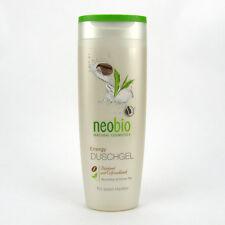 (7,96/L) 6 x Neobio Duschgel Energy Bio Koffein Grüner Tee 250 ml