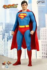 SUPERMAN (CHRISTOPHER REEVE) Hot Toys Movie Masterpiece 1/6 Scale  NEW MIB