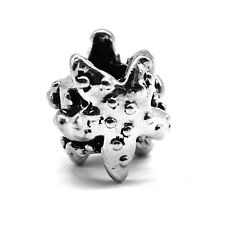 Charm Bead Cute Slider Chain Bracelet Hawaii Curling Sea Stars Uneven Barrel