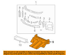 GM OEM Radiator Core Support-Skid Plate 20772040