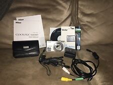 Nikon COOLPIX S6000 14.2 MP Digital Camera - Champagne silver