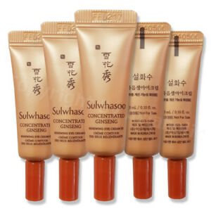 Sulwhasoo Concentrated Ginseng Renewing Eye Cream EX 3ml (1pcs ~ 20pcs) Newist