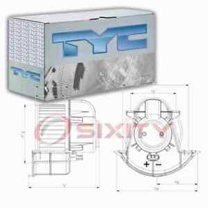 TYC Front HVAC Blower Motor for 2007-2015 Audi Q7 Heating Air Conditioning gg