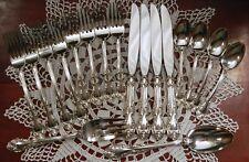 Gorham Melrose 4 Place Setting Dinner Service Serving Fork Spoon Knives 18 Pcs