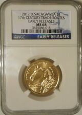 2012-D $1 SACAGAWEA TRADE ROUTES NGC MS 68 EARLY RELEASES