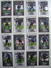 PaniniWCCF 2004-05 Inter complete 16 cards set ZANETTI CAMBIASSO STANKOVIC