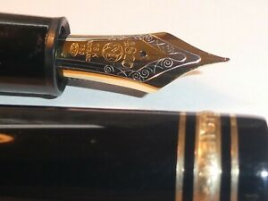Montblanc Meisterstuck 4810 Fountain Pen 18k Gold 750 GENUINE