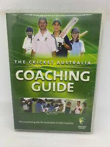 Cricket Australia - Coaching Guide dvd