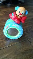 Fisher Price Crawl Along Musical Puppy Dog Rolling Toy with Sound Baby Learning