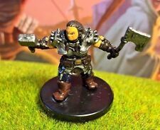 Dwarf Sundering Axe D&D Miniature Dungeons Dragons pathfinder fighter female 22