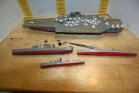 "Assembled INDEPENDCE Carrier, (21"")/ 4 pc. fleet & parts for  restoration"