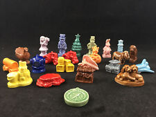 Lot Of 23 Wade England Red Rose Tea Figurines