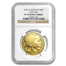 2006-W 1 oz Proof Gold Buffalo Coin - PF-70 NGC - SKU #27356