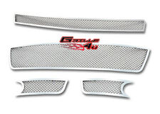 Customized For 06-13 Chevy Impala/SS/LT Stainless Mesh Premium Grille Combo