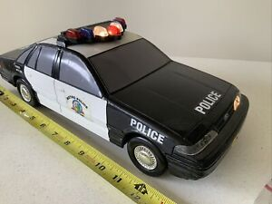Vintage Toy Funrise Metro Police Car Unit 208 Electronic Lights Sounds WORKING