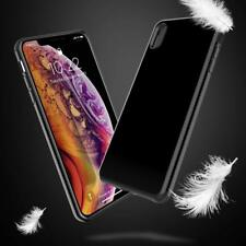 Apple iPhone XS Max Jet Black Rubber Silicone TPU Hybrid Soft Thin Case Cover