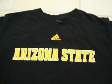NCAA Arizona State Sun Devils College University Sports Fan Adidas T Shirt L
