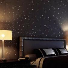 Pegatinas De Pared 100PCS Estrellas Arte De Decoración Pared En La Oscuridad