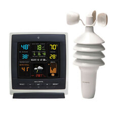 AcuRite 00622 Pro Color (Dark Theme) Weather Station with Wind Speed